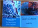 Two books by Ian Brinton from Shearsman Books