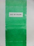 Ian Heames' Out Of Villon