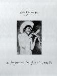 Derek Jarman's a finger in the fishesmouth