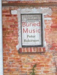 Buried Music by Peter Robinson (Shearsman Books)