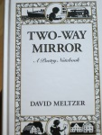 Two-Way Mirror by David Meltzer (City Lights)