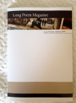 Long Poem Magazine 13 edited by Lucy Hamilton and LindaBlack