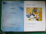 Stanze by Simon Marsh  STILL LIFE by Ian Patterson (Oystercatcher Press)