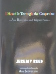 I Heard It Through The Grapevine: Asa Benveniste & Trigram Press (Shearsman Books)
