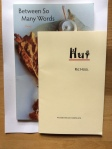 Between So Many Words (Red Squirrel Press) Hut (Woodenhead Pamphlets) by RicHool