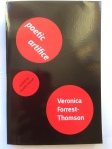 Poetic Artifice  Veronica Forrest-Thomson  Edited by Gareth Farmer for Shearsman Books