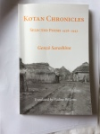 Kotan Chronicles: Selected Poems 1928-1943 by Genzō Sarashina Trans. Nadine Willems (Isobar Press)