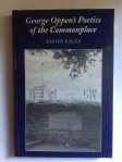 George Oppen's Poetics of the Commonplace by Xavier Kalck (Peter Lang Publishing)
