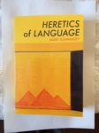Heretics of Language by Barry Schwabsky (Black Square Editions)