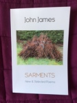 Sarments by John James (Shearsman Books)