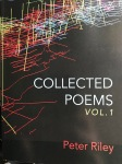 Collected Poems Volume 1 by Peter Riley (Shearsman Books)